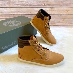 Timberland Wheat Dausette Sneaker Boots